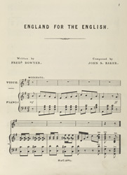 England For The English part 03